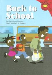 Cover of: Back to school | Christianne C. Jones