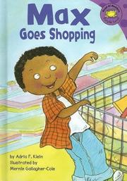 Cover of: Max goes shopping