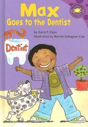 Cover of: Max goes to the dentist