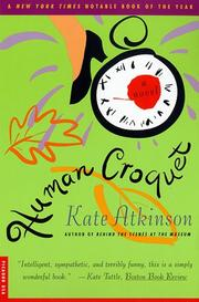 Cover of: Human Croquet | Kate Atkinson
