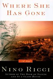 Cover of: Where she has gone