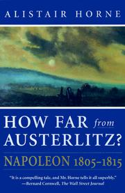 Cover of: How far from Austerlitz?