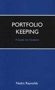 Cover of: Portfolio Keeping