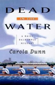 Cover of: Dead in the Water (Daisy Dalrymple #6)