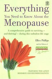 Cover of: Everything You Need To Know About The Menopause | Ellen Phillips