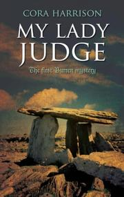 Cover of: My Lady Judge (Burren Mysteries 1)