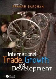 Cover of: International Trade, Growth, and Development