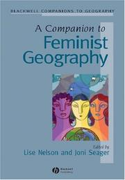 Cover of: Companion to Feminist Geography | Joni Seager