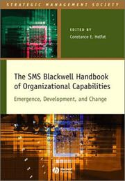 Cover of: The Organizational Capabilities |