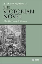 Cover of: A concise companion to the Victorian novel |