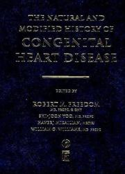 Cover of: The Natural and Modified History of Congenital Heart Disease | Haverj Mikailian