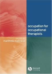 Occupation for Occupational Therapists by