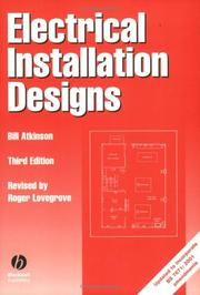 Electrical installation designs by Bill Atkinson