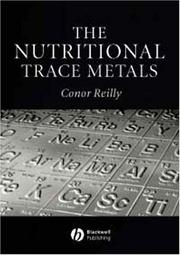 Cover of: The Nutritional Trace Metals