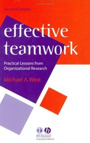 Cover of: Effective Teamwork | Michael A. West