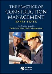 Cover of: The Practice of Construction Management | Barry G. Fryer