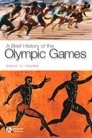 Cover of: A Brief History of the Olympic Games (Brief Histories of the Ancient World)