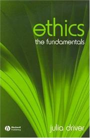 Cover of: Ethics | Julia Driver