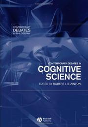Cover of: Contemporary debates in cognitive science |