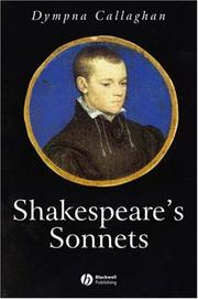 Cover of: Shakespeare's Sonnets