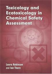 Cover of: Toxicology and ecotoxicology in chemical safety assessment