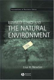 Cover of: Business Ethics and the Natural Environment (Foundations of Business Ethics)