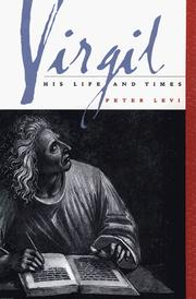 Cover of: Virgil | Peter Levi