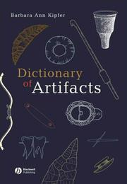 Cover of: Dictionary of Artifacts