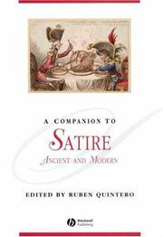 Cover of: Companion to Satire |