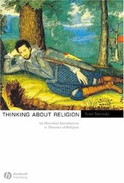 Cover of: Thinking about religion