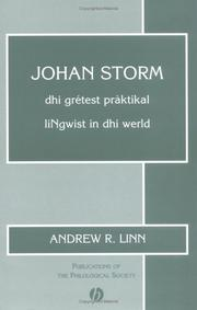 Cover of: Johan Storm