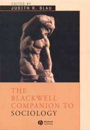 The Blackwell Companion to Sociology