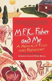 Cover of: M.F.K. Fisher and me