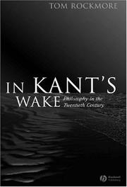 Cover of: In Kant's wake