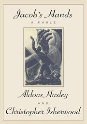 Cover of: Jacob's hands: A Fable