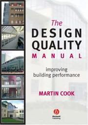 Cover of: The Design Quality Manual