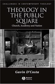 Cover of: Theology in the Public Square | Gavin D