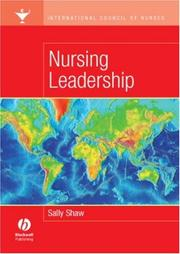 Cover of: International Council of Nurses