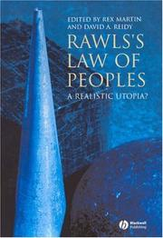 Cover of: Rawls's Law of Peoples