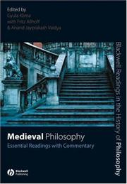 Cover of: Medieval Philosophy | Gyula Klima