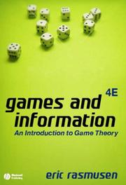 Games and information by Eric Rasmusen