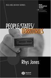 Cover of: People/States/Territories | Rhys Jones