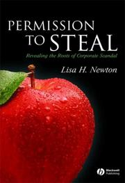 Cover of: Permission to Steal: Revealing the Roots of Corporate Scandal (Blackwell Public Philosophy)