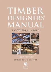 Cover of: Timber Designers