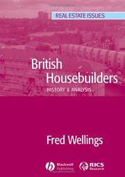 Cover of: British Housebuilders