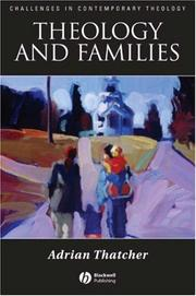 Cover of: Theology and Families (Challenges in Contemporary Theology)