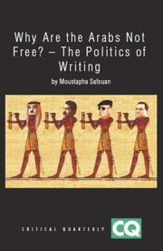 Cover of: Why Are the Arabs Not Free? | Moustapha Safouan