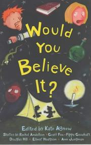 Cover of: Would You Believe It?