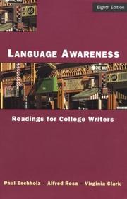 Cover of: Language awareness