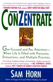 Cover of: ConZentrate | Sam Horn